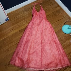 Prom formal pageant special occasion dress. Pink S